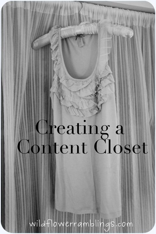 closet orginization
