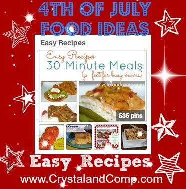 crystalandcomp 4th of july recipes