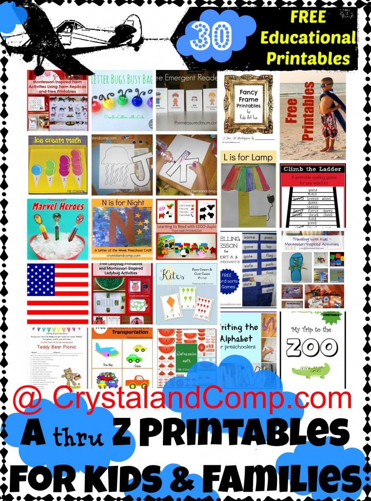 Free Educational Printables