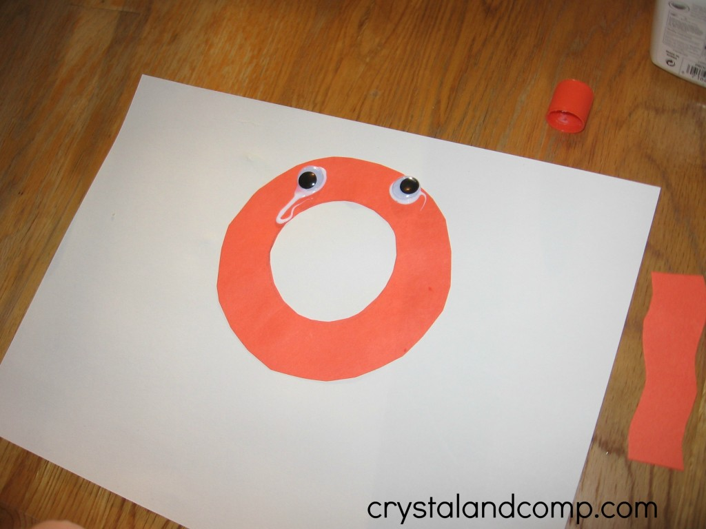 O is for Octopus letter of the week