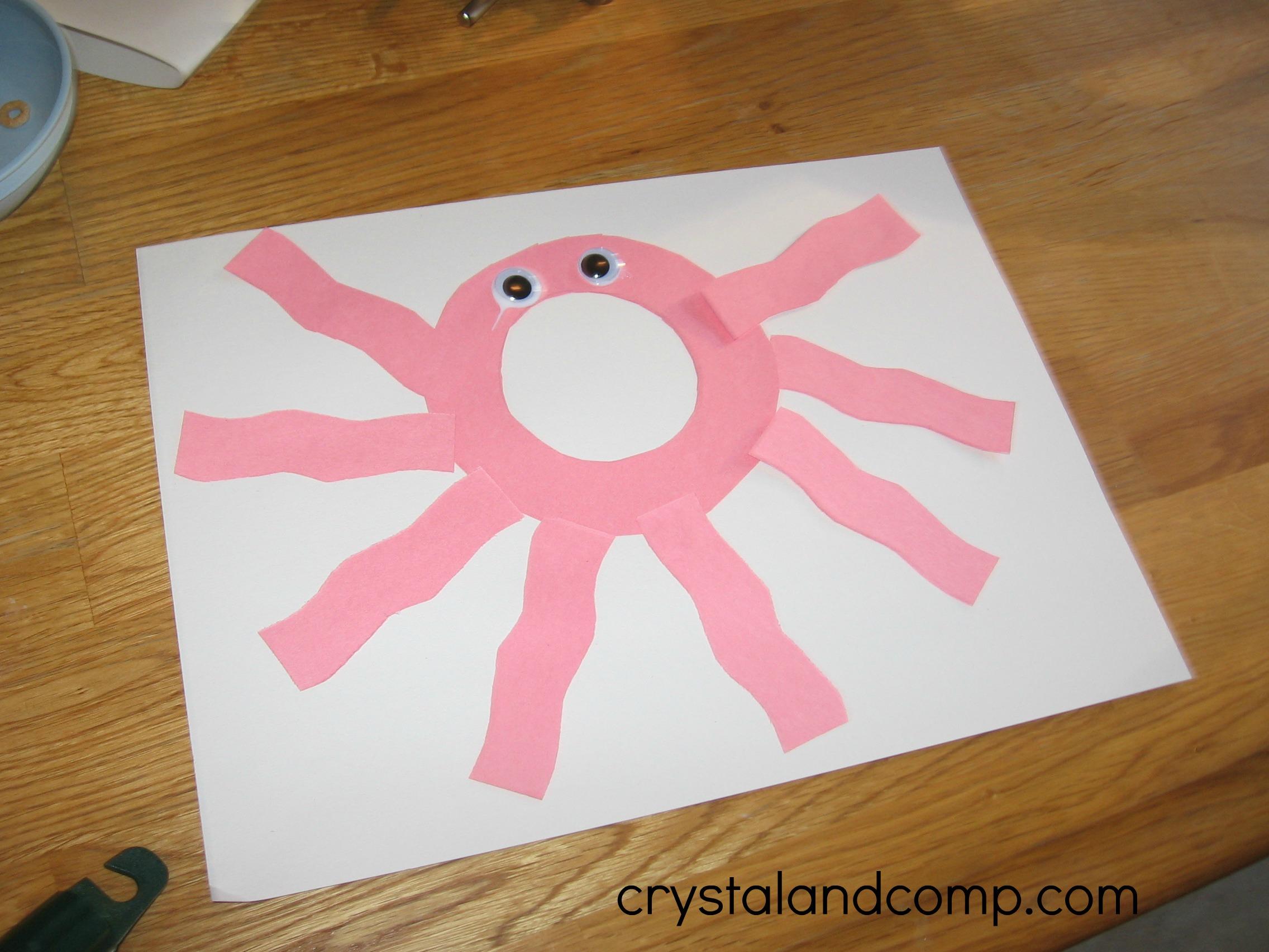 Alphabet Activities for Preschoolers: O is for Octopus