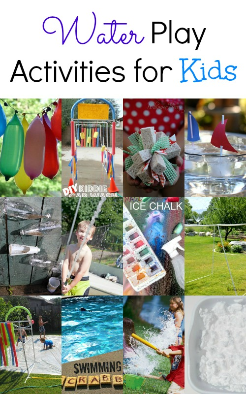 Water play summer activities for kids