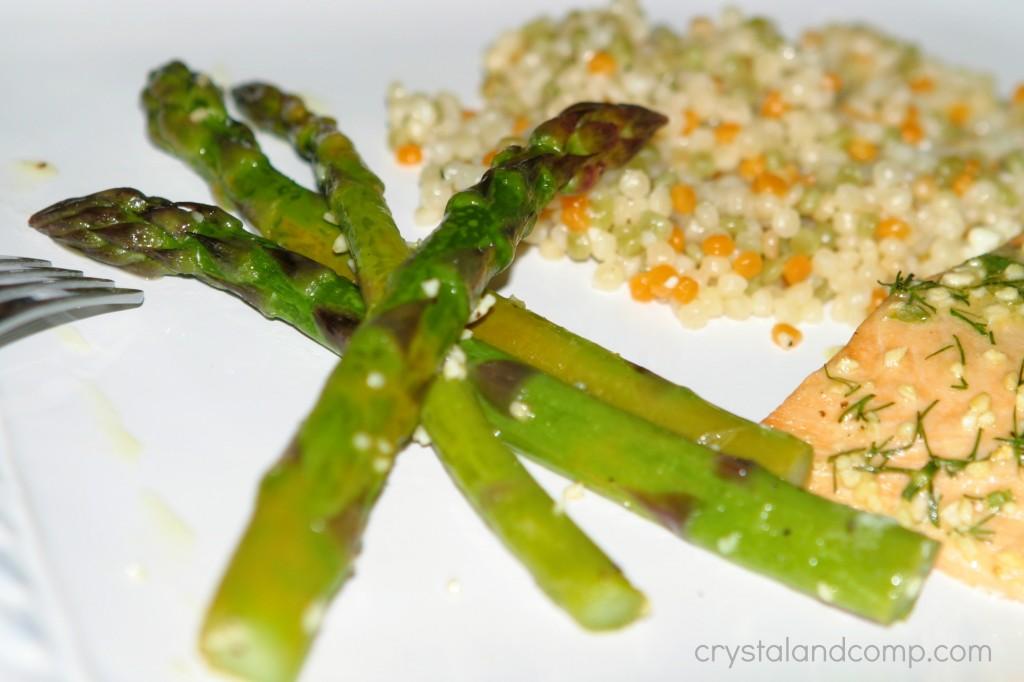 baked asparagus recipe