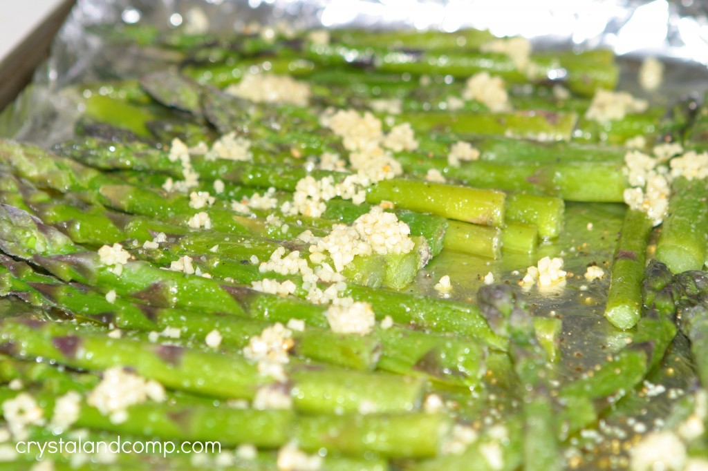 how to bake asparagus