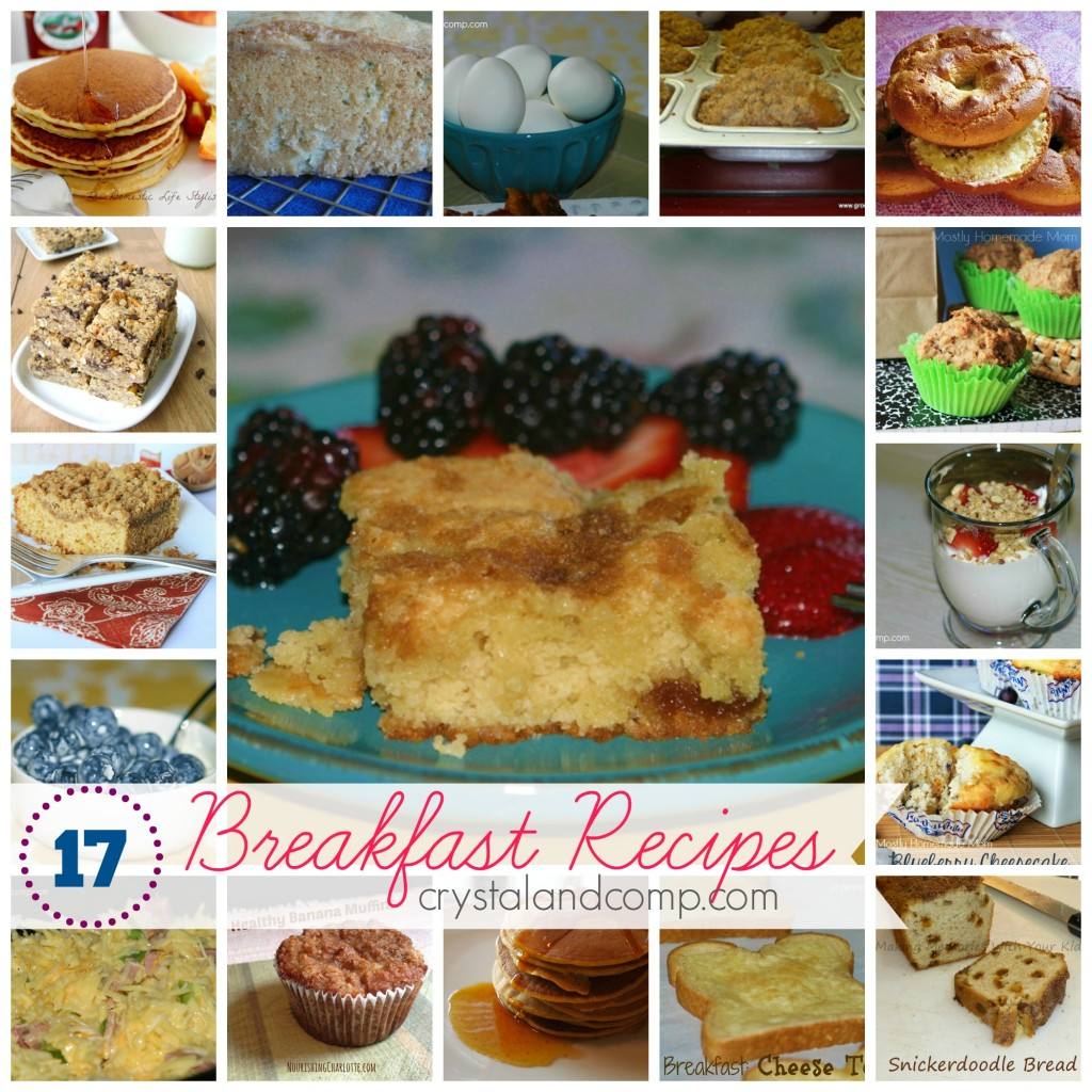 17 easy breakfast recipes for #backtoschool