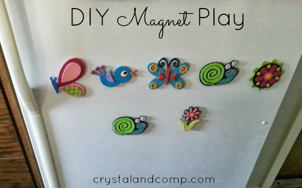 DIY Magnet play