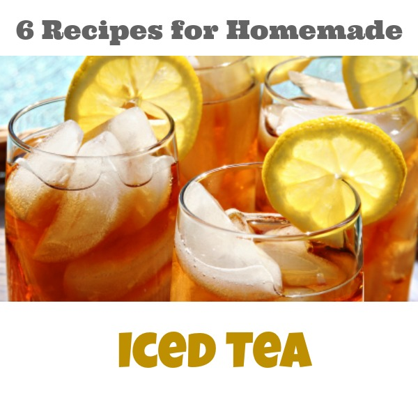 how to make real iced tea