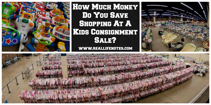 save money shopping for kids clothes at resale shops