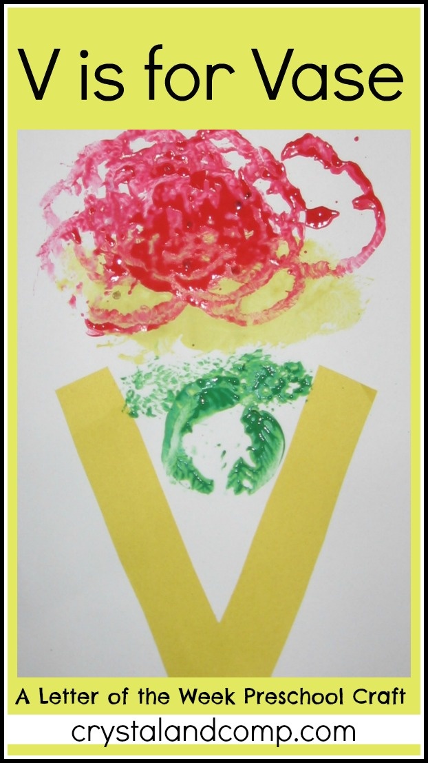 letter v craft letter of the week preschool craft v is for vase 2342