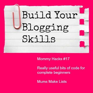build blogging skills