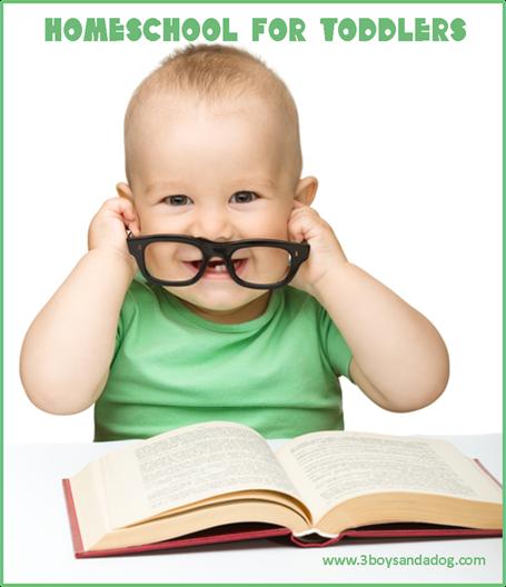 homeschool a toddler