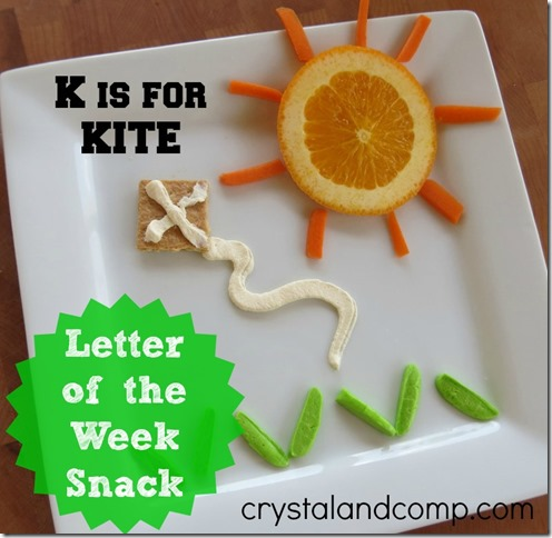 letter of the week snack ideas
