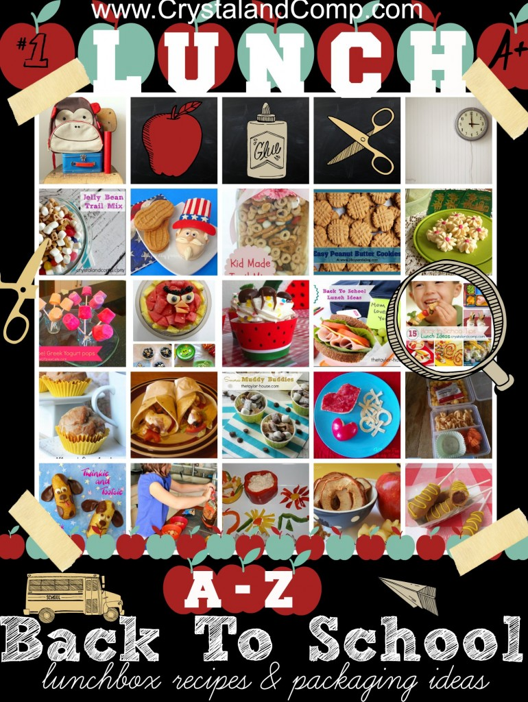 lunch box back to school recipes