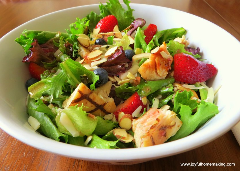 weekly meal planning salad