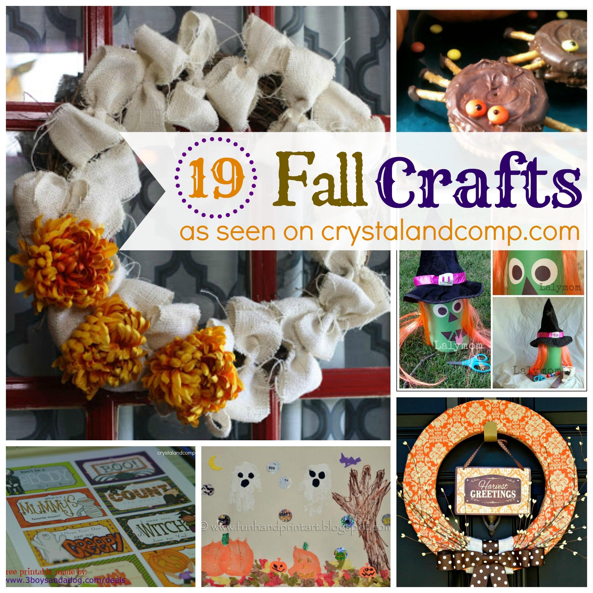 19 fall craft ideas