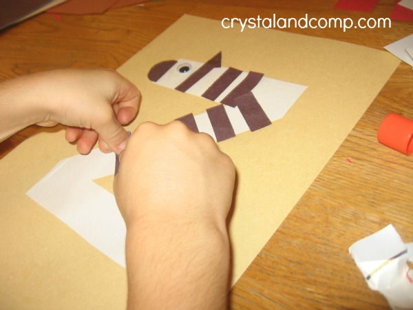 letter of the week preschool crafts: z is for zebra