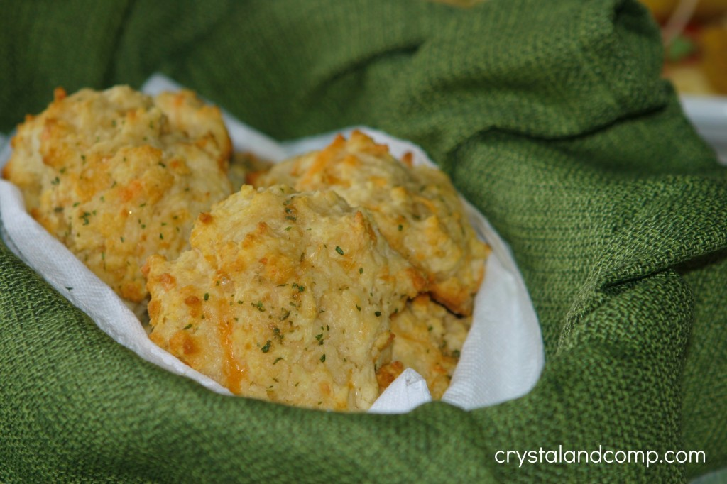 garlic herb biscuits