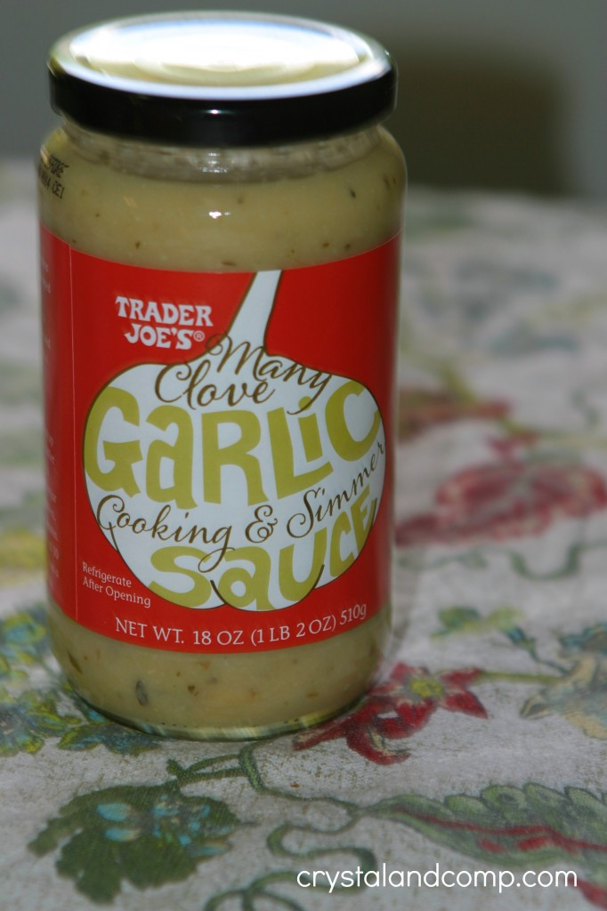 trader joes many clove garlic cooking sauce