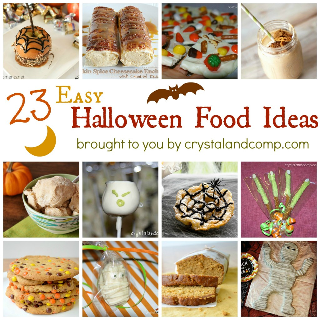23 Easy Halloween Food Ideas
