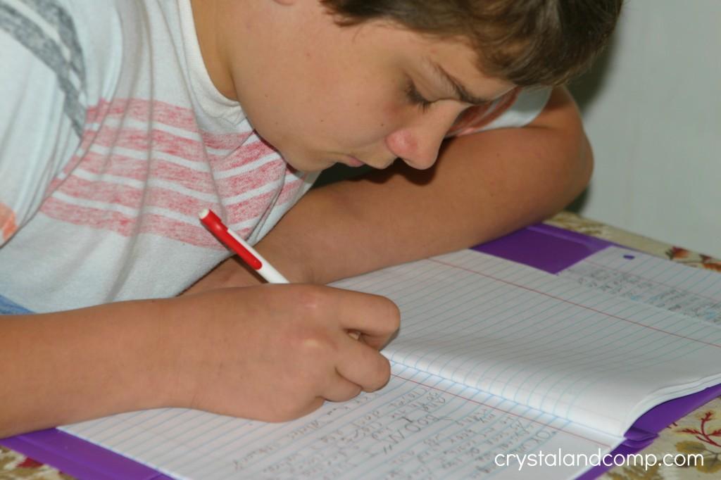 6th grader homeschooling