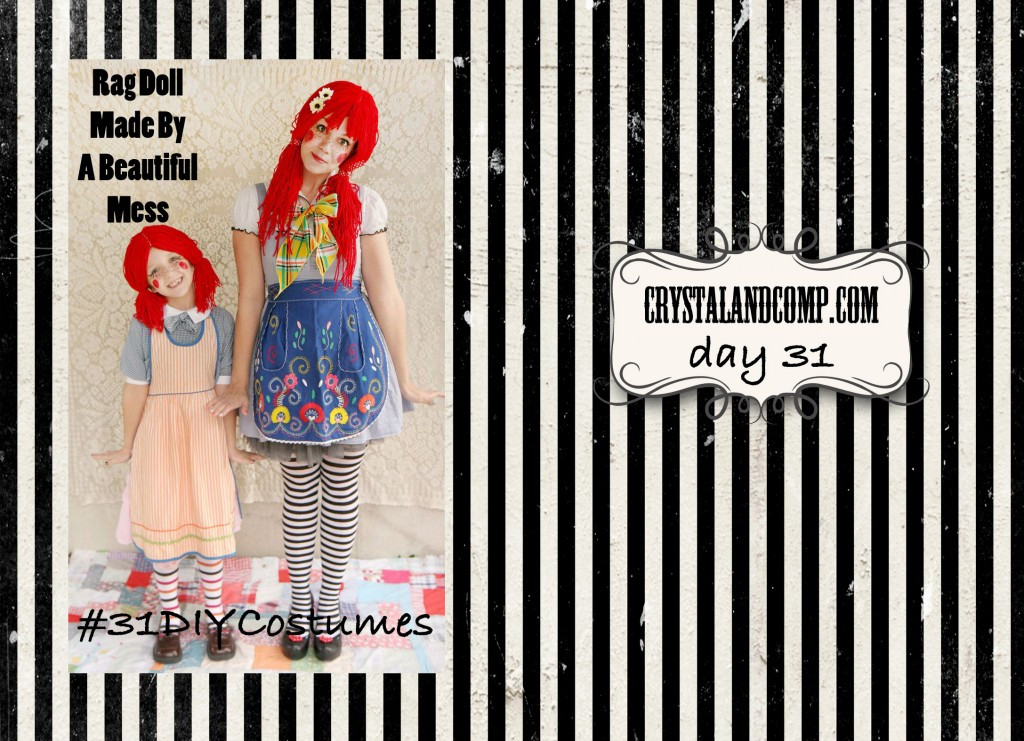 DIY Halloween Costumes (Rag Doll) #31DIYCostumes