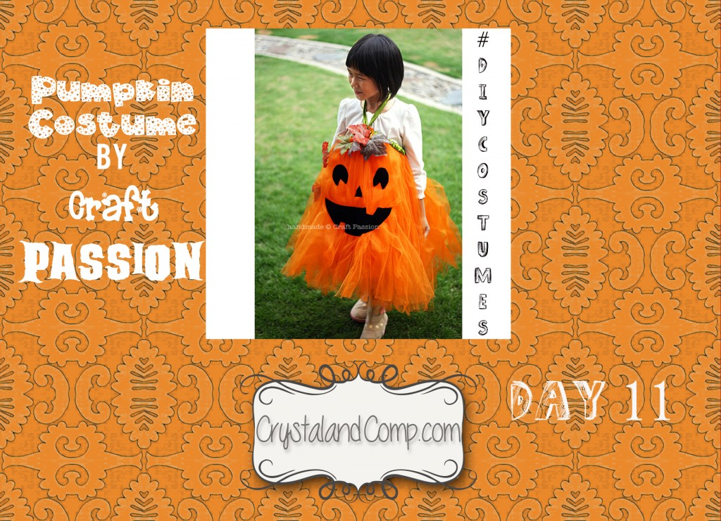 DIY Halloween costumes for kids: easy pumpkin costume