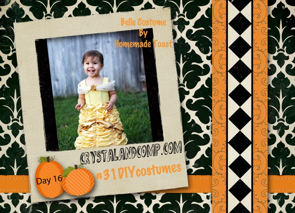 DIY Halloween Costumes: Belle Princess Costume #31DIYCostumes