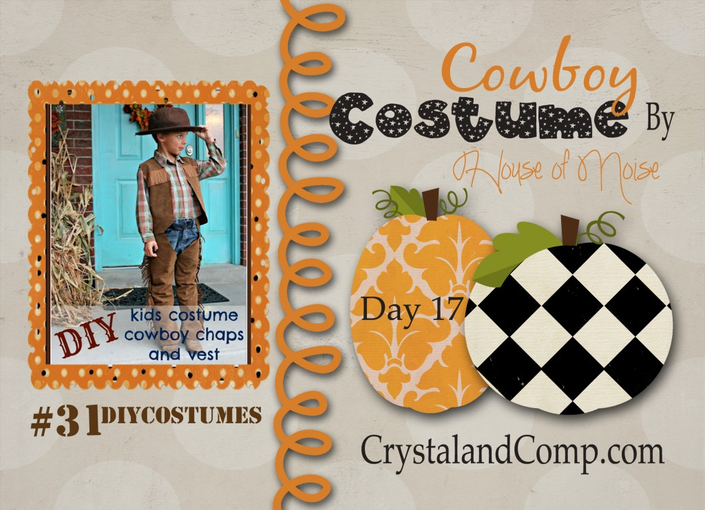 DIY Halloween Costumes: Cowboy Costume