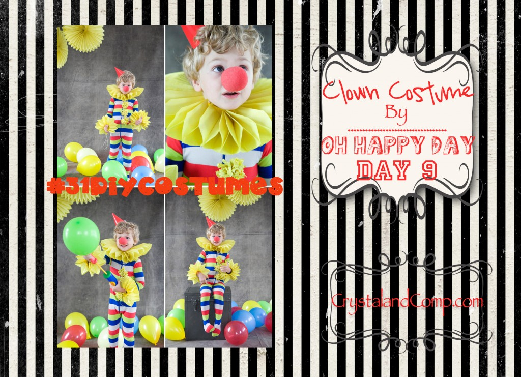 DIY Halloween Costumes: How to Make a Clown Costume
