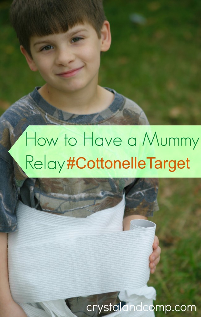 how to have a mummy relay #CottonelleTarget