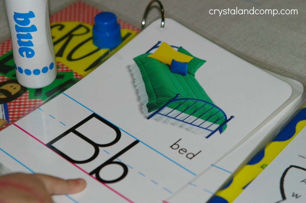letter of the week ABC flip book