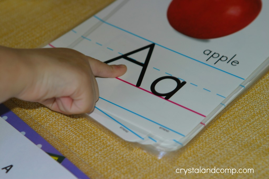 preschool letter worksheets A is for apple