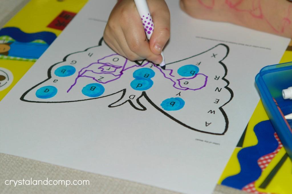 preschool letter worksheets letter of the week