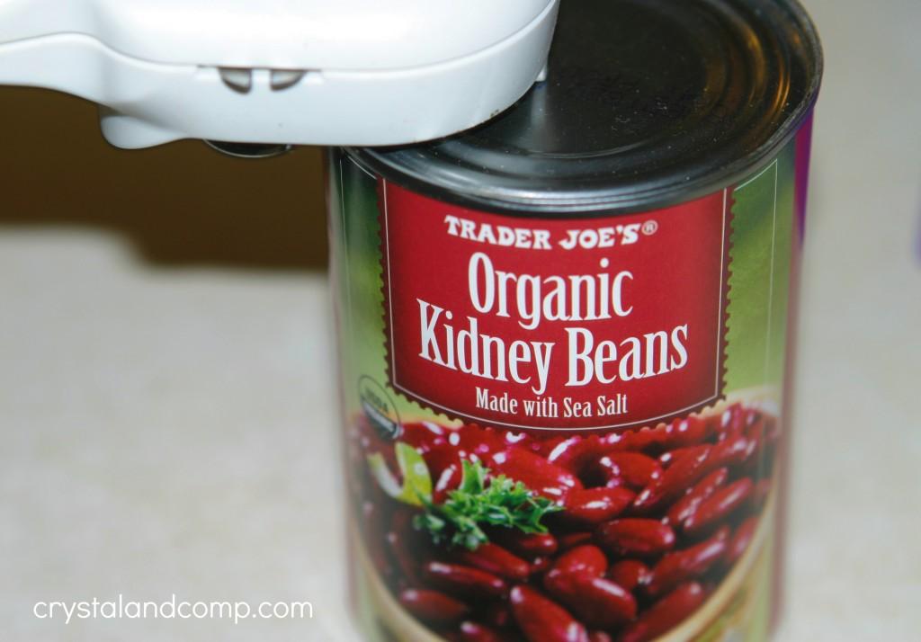 trader joes organic kidney beans