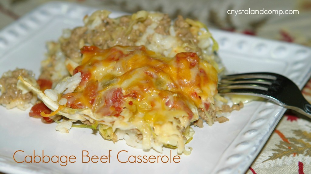 beef cabbage casserole recipes
